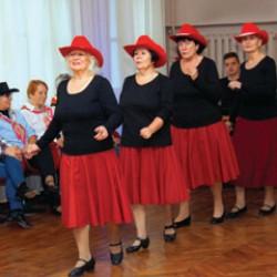 Группа лайн-танца для сеньоров «A. C. D.»
