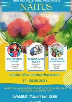 Выставка, посвящённая 75-летию г. Кохтла-Ярве