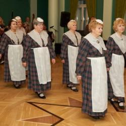 Танцевальная группа для сеньоров